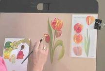 Pintura / DSobre flores