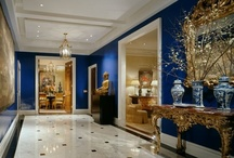Blue Moon / The many shades of blue in interiors, furniture, accessories and more.