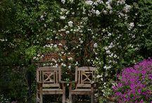 miejsca w ogrodzie