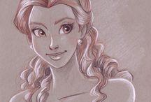 desenhos princesas