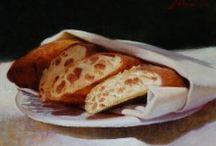 pães e uténsilios