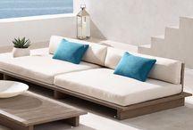 Terrace inspiration / Roof terrace, mediterranean style, planters etc