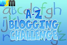 A-Z Blogging Challenge / Welcome to our A-Z Blogging Challenge!