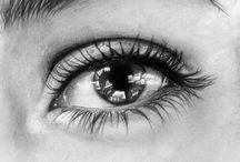 Portraits / Oči, ústa, obličej, postava