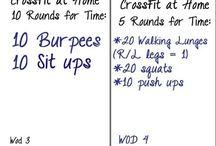 Crossfit / hiit workouts