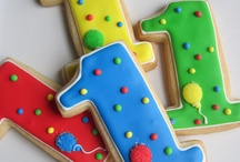 Cookies - Numbers and Letters / by ValBottin
