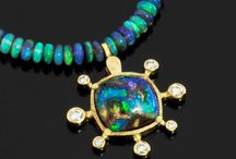 Opals Worth Hocking Your Kids For / Finished Australian opals designs