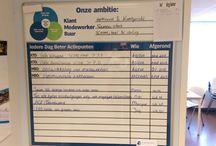 Albert Heijn Geleen / Bord ten behoeve van de ALO voor het vak Communicatie en PR.