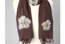 Scarves / Unique hand made scarves! Keep them colorful to add some spice to your fall outfits
