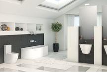 Colección Fossil Natura 2016 / baños modernos, decoración baños, juego de sanitarios