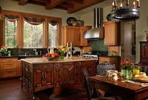 Kitchen / kitchen looks and set ups – different complete kitchen cabinets – kitchen tables and chairs  etc