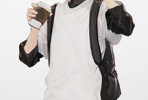 Anime Boy Reference