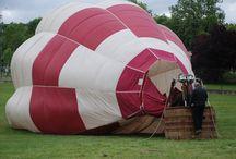 Mis vuelos en globo / Reportages fotográficos de mis vuelos en globo aerostático