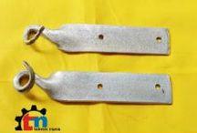 STRAIN HOOK CLAMP - BRACKET STRAIN HOOK