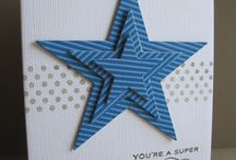 Stampin Up Stars / handmade cards
