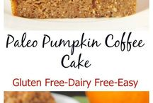 Pumpkin coffee cakes