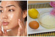 Masque aux œufs