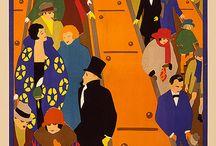 i rulletrappen/escalators