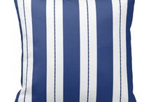 Blue and White Stripes / Blue and White Stripes
