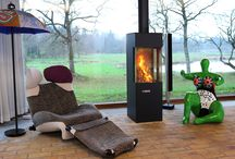 Art of fire / A RAIS stove is not just a source of heat. The #stove or #fireplace unites aesthetics and technology, shape and function, design and craftsmanship. We call it Art of Fire