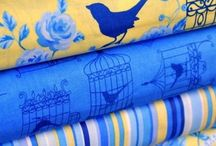 Colorful Quilts and fabric