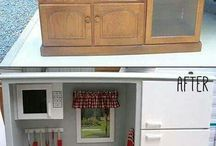 Recycle tv units