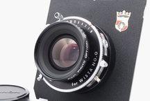 Fujifilm Fujinon W 105mm f/5.6 Lens Copal w/ Wista Boar