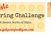 GYPO Style Challenge | Spring 2014 / Pin board for the participants of the Style Challenge for spring 2014 at Get Your Pretty On. #GYPOStyleMe