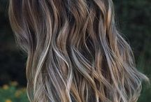 Beach waves and hairdo's / Soft beach waves and ombre colour for hair inspiration.