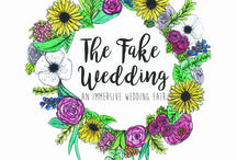 THE FAKE WEDDING STYLING INSPO / The Fake Wedding Fair a collaboration between Heartfelt Vintage & King's Weston House