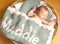 Personalized Baby Blankets / Personalized baby blankets are the most popular baby gift at www.namelynewborns.com Adding a name to a baby blanket turns the gift into a keepsake.