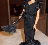 Creaciones Barbie - Moros y Cristianos de Elda - Contrabandistas / Más Creaciones Barbie de Mila Gil. Aquí os presentamos las Barbies de la Comparsa de Contrabandistas de las Fiestas de Moros y Cristianos de Elda.