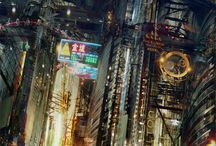 SciFi Concepts | Locations / Amazing science fiction location concepts that could turn into the basis for elements in my novels.
