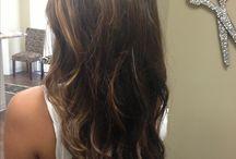 Hair everywhere!!