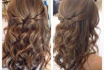 Jane's wedding - hairstyles