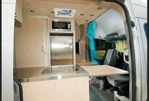 Sprinter Van interiors / Sprinter van conversion: ideas for the interior furnishings