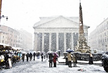 Rome in the snow - Neve a Roma