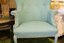 Painting Upholstery / malowanie tapicerki - Annie Sloan Chalk Paint