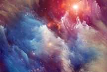 Universe / What fascinates me about universe are the colours, which really matching eachother.