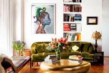 Eclectic living space 2017