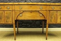 Antique Cupboards and Sideboards