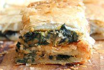 Chickpea Spinach Pie