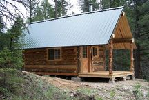 Log Cabins / by Tiny House Blog