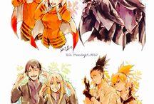 Cupluri / Cupluri din Anime , Manga , Cartoons , filme si seriale