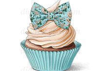 sweet end cup cake