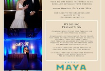 Hotel Maya Weddings / by Hotel Maya