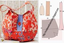 Bags and Totes / One of my favourite things to sew is bags! So here is a collection of my favourite ideas