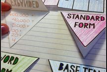Place Value Board / Place value ideas to help students move towards mastering this concept.