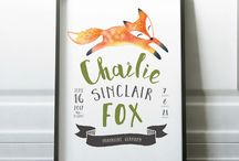 Fox Themed Nursery Decor Inspiration
