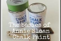 Furniture / Annie Sloan Chalk Paint / by Karen DePaolo